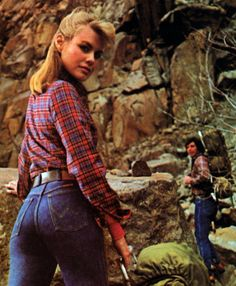 Wrangler, Young Miss magazine, June/July, 1984.
