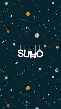 Suho Kpop Exo, Name Wallpaper, Screen Wallpaper, Chanyeol Baekhyun, Exo Album, Exo Lockscreen, Exo Do, Kim Junmyeon, Bts And Exo