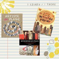 3 livres 1 thème – un mois artistique Actes Sud Junior, Star Garland, Old Books, One Month, Artist