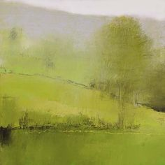 Irma Cerese, The Green Mountains #1, acrylic on canvas