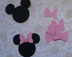 25 pulgadas 1 pequeña Minnie Mouse cabeza por sandylynnbscrapping