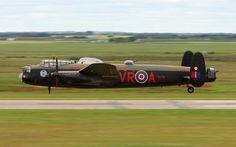 Avro Lancaster low level flying.