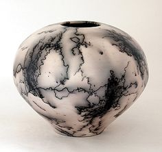 horsehair vessel by ron mello