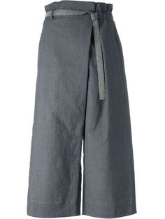 Brunello Cucinelli belted culottes