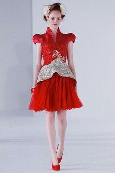Guo Pei Ci Couture Spring Summer 2013 Singapore
