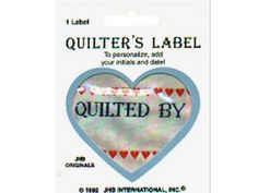 """Quilt Label 2-3/4"""" X 2"""""""