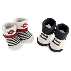 Just One You™Made by Carter's® Baby Boys' Keepsake Bootie Set - Blue/Grey…