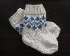 Items similar to baby socks on Etsy Baby Socks, Knitting For Kids, Creative, Handmade, Stuff To Buy, Etsy, Vintage, Awesome, Fashion