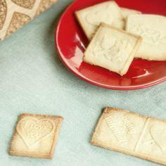 Valentine cookies with Valentine Rolling Pins ❤