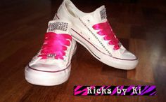 XO Kicks by Ki Customized Converse Chucks by TurtleSoupCompany Soup Company, Turtle Soup, Chuck Taylor Sneakers, Fashion Shoes, Kicks, Pairs, Trending Outfits, Unique Jewelry, Handmade Gifts