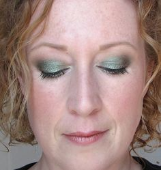 Could I rock green/blue eyeshadow with blue eyes? Maybe.