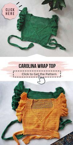 Mode Crochet, Crochet Baby, Crochet Summer, Crochet Tops, Crochet Crop Top, Knitting For Beginners, Start Knitting, Easy Knitting, Crochet Clothes For Women