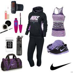 """Nike Girl"" by majogarciar on Polyvore"