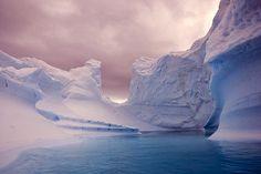 antarctica - The Iceberg Cemetery by Bogdan Ionescu, via Flickr