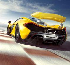 McLaren unveils details of its P1 Plug-in Hybrid Supercar