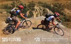Bike or hike the 140 mile Maah Daah Hey Trail near Medora.