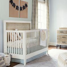 myRoom Convertible Crib #rosenberryrooms