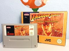 Another nice SNES game of my collection. 😊 #nintendo #nintendode #indianajones…