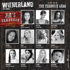 Meet the Teahouse Gang It Cast, Meet, Movie Posters, Film Poster, Billboard, Film Posters
