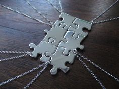 610278de01 I have an awesome idea that Im going to try when Christmas rolls around. I  · Puzzle Piece NecklaceNecklace ...