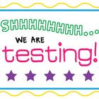 I hope these printables will help you get ready for testing season! ;)...Free download