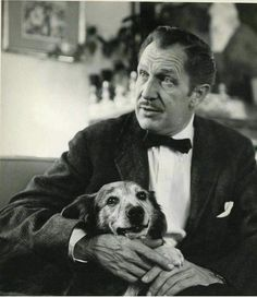 Vincent Price & Joe His Lovable Dog