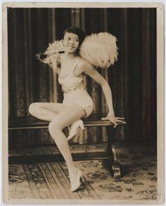 Clotilde (1930s)  Vintage Black Burlesque