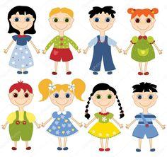 Výsledok vyhľadávania obrázkov pre dopyt kreslené postavy detí