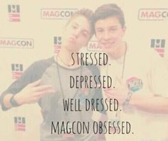 Magcon Obsessed did any of u hear Magcon is possibly splitting up because Aaron's an uncle, Jack and Jack are going to college, Nash and Cameron are signing for a show, Matt and Carter are trying to get recognized in L.A and finally Shawn is going on tour with Austin Mahone comment if u r depressed<<<Okay so I haven't been her from the start and they already broke up by the time I got here but this is still depressing for me.