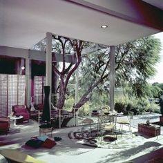 Henry's Furniture showroom, Long Beach, California, 1963