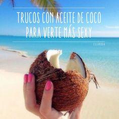 El aceite de coco tiene muchos beneficios para la belleza de la mujer ¡conócelos!