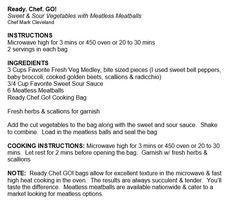 Meatless Meatballs Recipe!  Enjoy.
