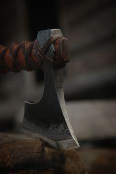 Baltic Viking Axe - Hand made by Master Craftsmen at John Neeman Tools