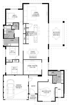 The Cantanzaro Floorplan by National Homes