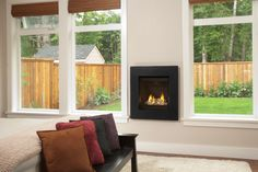 The Valor Portrait gas fireplace offers a diverse collection of adaptive fronts complementing both traditional and contemporary room settings. Mounted Fireplace, Custom Fireplace, Stove Fireplace, Fireplace Inserts, Fireplace Design, Fireplace Ideas, Valor Fireplaces, Gas Fireplaces, Fireplace Gallery