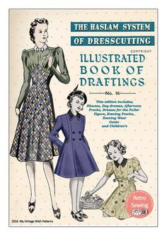 The Haslam System of Dressmaking No. 16 1930's  PDF