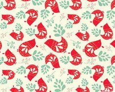 Folklore - Pretty Partridges - Cream