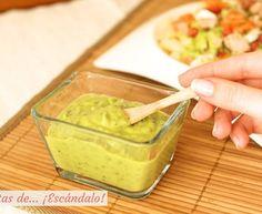 salsa de yogurt Kebab - Receta original de myTaste Sandwich Cubano, Yogurt, Tasty, Yummy Food, Guacamole, Biscuits, Sandwiches, Mexican, Ethnic Recipes