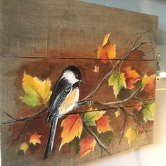 Pallet Painting, Distressed Wood Art, Pallet Art