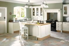 oak cabinets, paint colors, and vinyl flooring | Painting Oak Kitchen Cabinets Cream Painting Oak Kitchen Cabinets