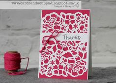 I am an Independent Demonstrator using the wonderful Stampin' Up! products, contact me today on sarah-janerae@sky.com to find out more about placing an order, coming to a card class, hosting a home workshop or joining Stampin' Up! with me. I look forward to hearing from you soon x
