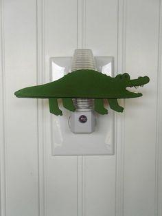 Hey, I found this really awesome Etsy listing at http://www.etsy.com/listing/157110859/alligator-night-light-alligator-nursery
