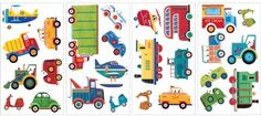 Transportation Wall Decal Cutouts 18x40 *** Check this awesome product by going to the link at the image.Note:It is affiliate link to Amazon.