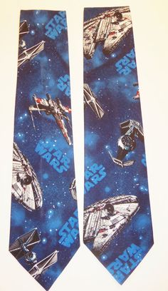 Star Wars  Inspired Space Battle Neck Tie with by CosplayMommas