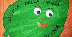 Dentro la foglia si nasconde   una storia inventata dai bambini...        Nel bosco.....