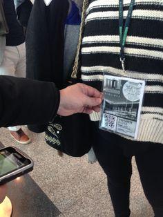 O bilhete é a sua credencial permitindo a entrada direta na feira!