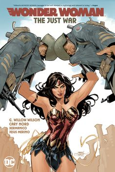When Wonder Woman rushes to eastern Europe to rescue Steve Trevor from a mission gone wrong, she'll find herself face to face with a very new, very different God of War. It's true, Ares has been reborn on Earth—but has he changed for the better? Marvel Writer, Ms Marvel, Cosmic Comics, Dc Comics, Death Of Superman, Brave And The Bold, Romance Comics, God Of War, American Gods