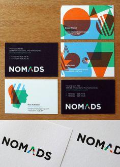 Martin Pyper – Identity for Nomads advertising agency, Amsterdam