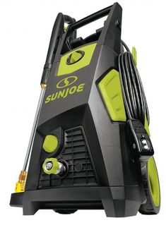 Sun Joe 2300 PSI GPM Brushless Induction Electric Pressure Washer with Brass Hose Connector Best Pressure Washer, Pressure Washers, Universal Motor, Hose Reel, Oil Stains, Garden Hose, Garden Tools, Car Ins, Save Energy
