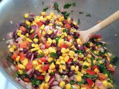 Black Bean & Corn Salsa Recipe - Tips, Reviews | The Recipe Diva